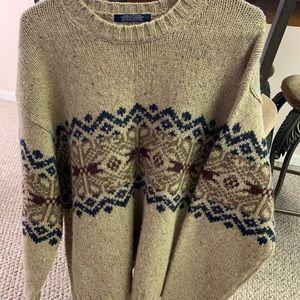 Tommy Hilfiger 100% Wool Sweater Size XL